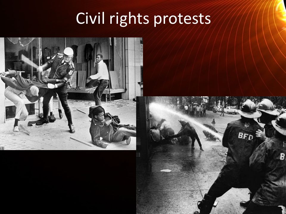Civil rights protests