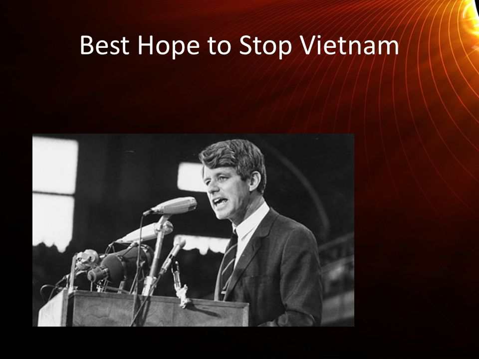 Best Hope to Stop Vietnam