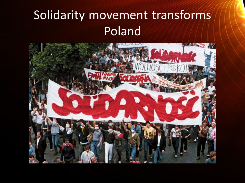 Solidarity movement transforms Poland