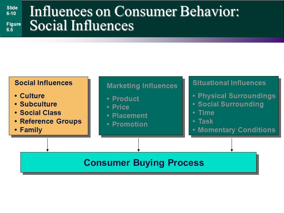 influences on consumer behavior