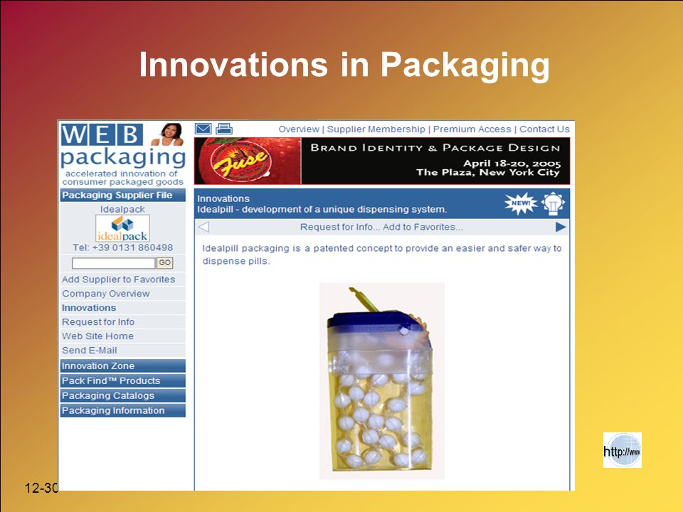 12-30 Innovations in Packaging