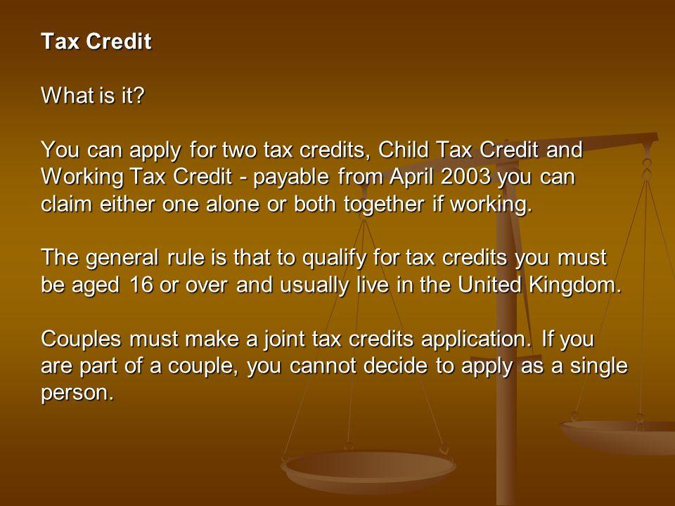1 Tax