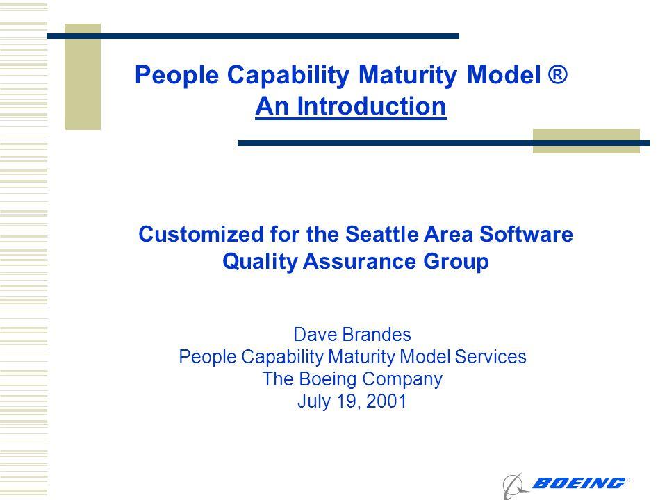 Quality assurance maturity model