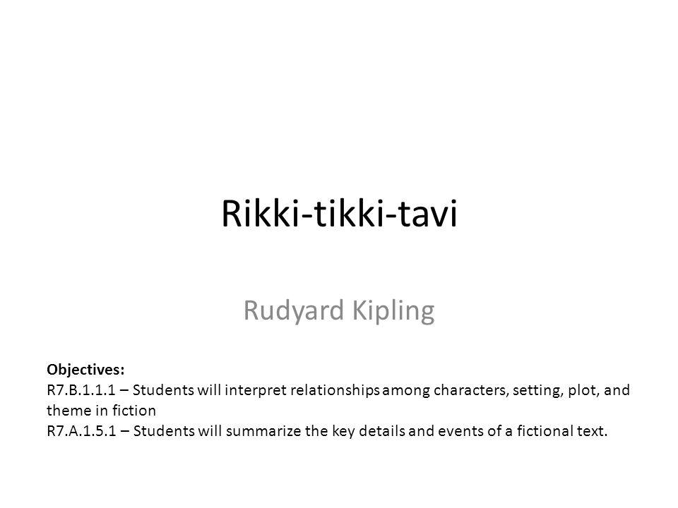 what is the theme of rikki tikki tavi