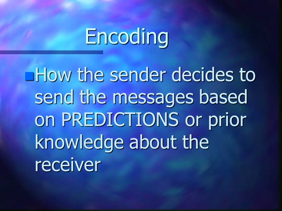 What is Feedback. n Reaction of the receiver to the sender's message.