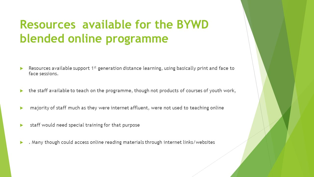 youth work courses online