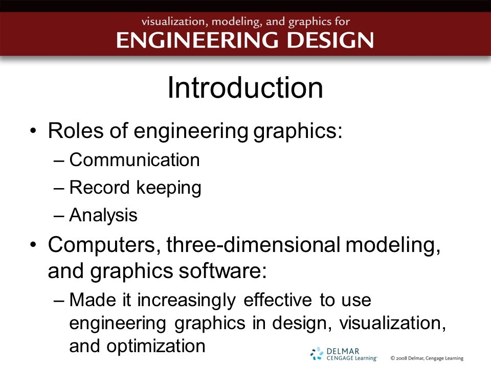 Chapter 1 An Introduction To Graphical Communication In Engineering Ppt Download