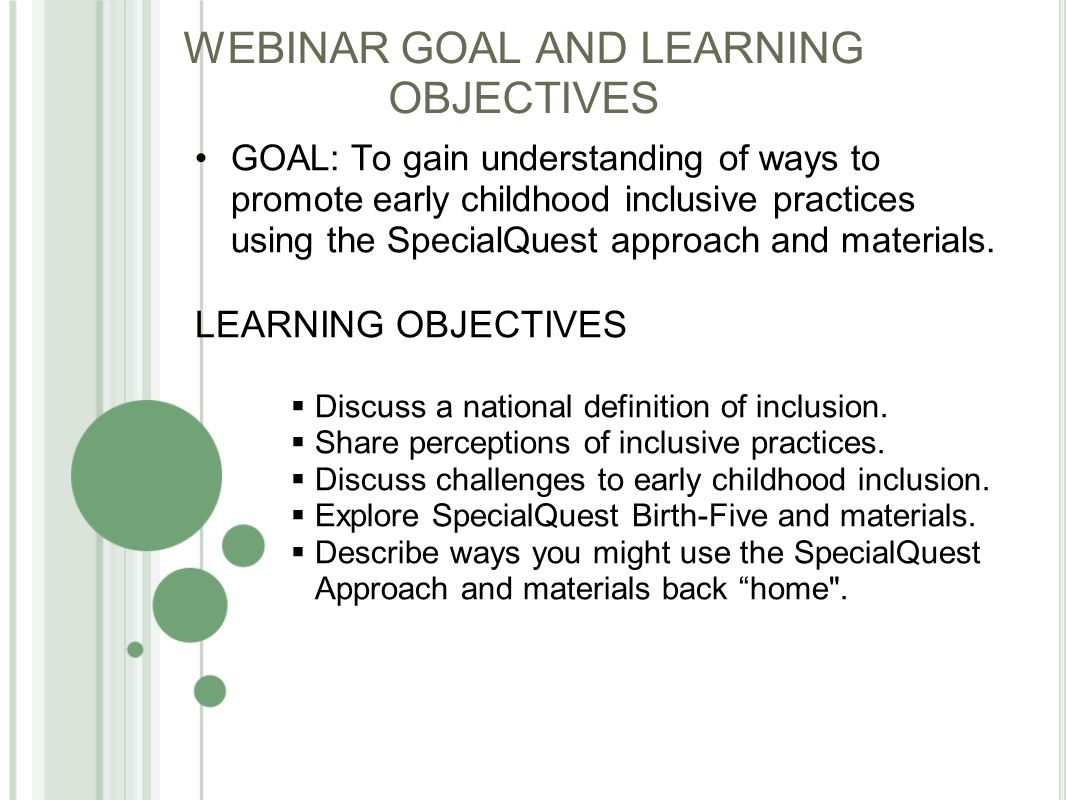 promoting and sustaining inclusive practices in colorado early