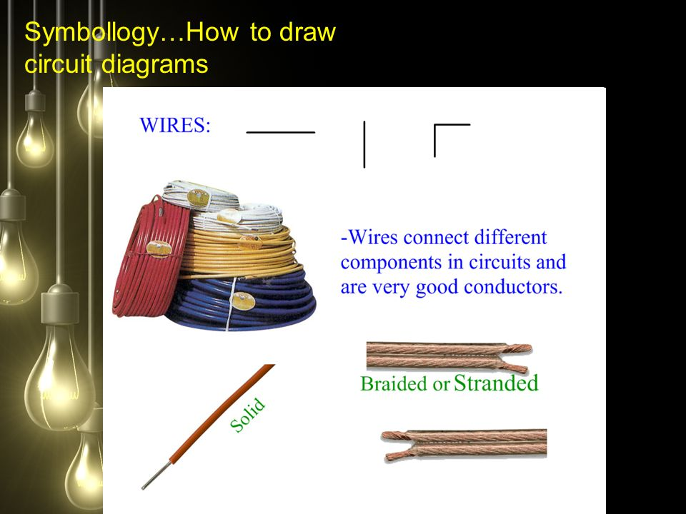 Symbollogy…How to draw circuit diagrams