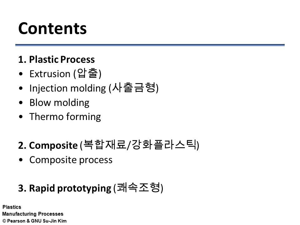 Pearson & GNU Su-Jin Kim Plastics Manufacturing Processes