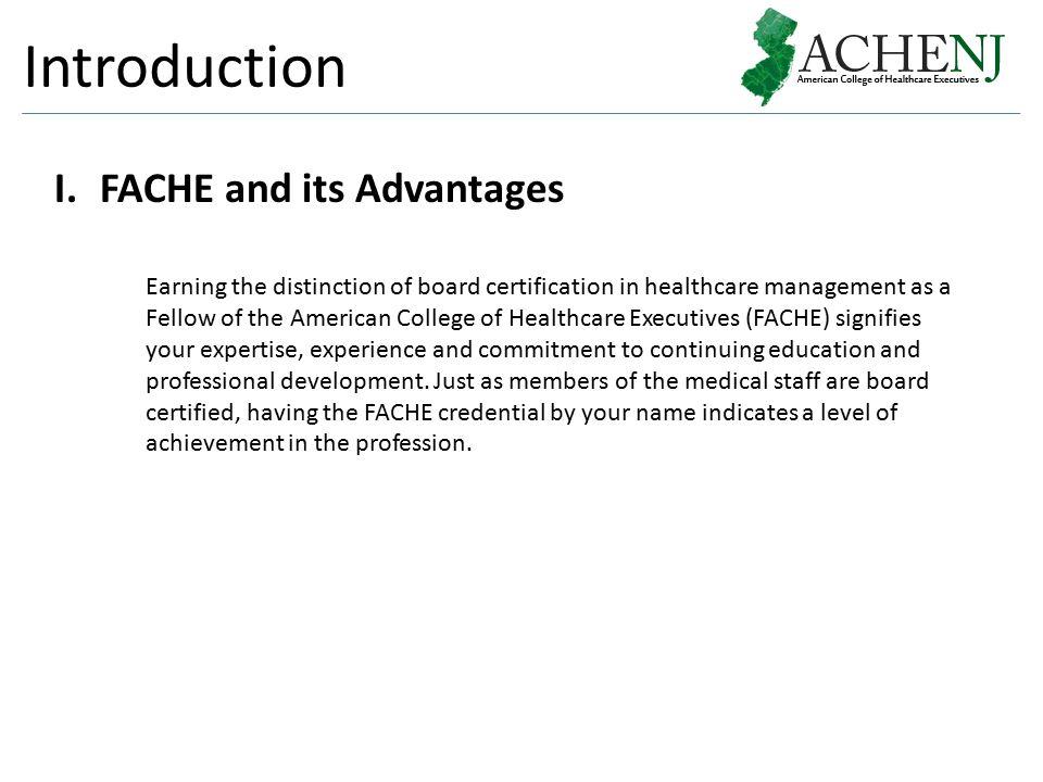 Advancement To Fellow Fache Brian H George Ms Mba Fache Ppt