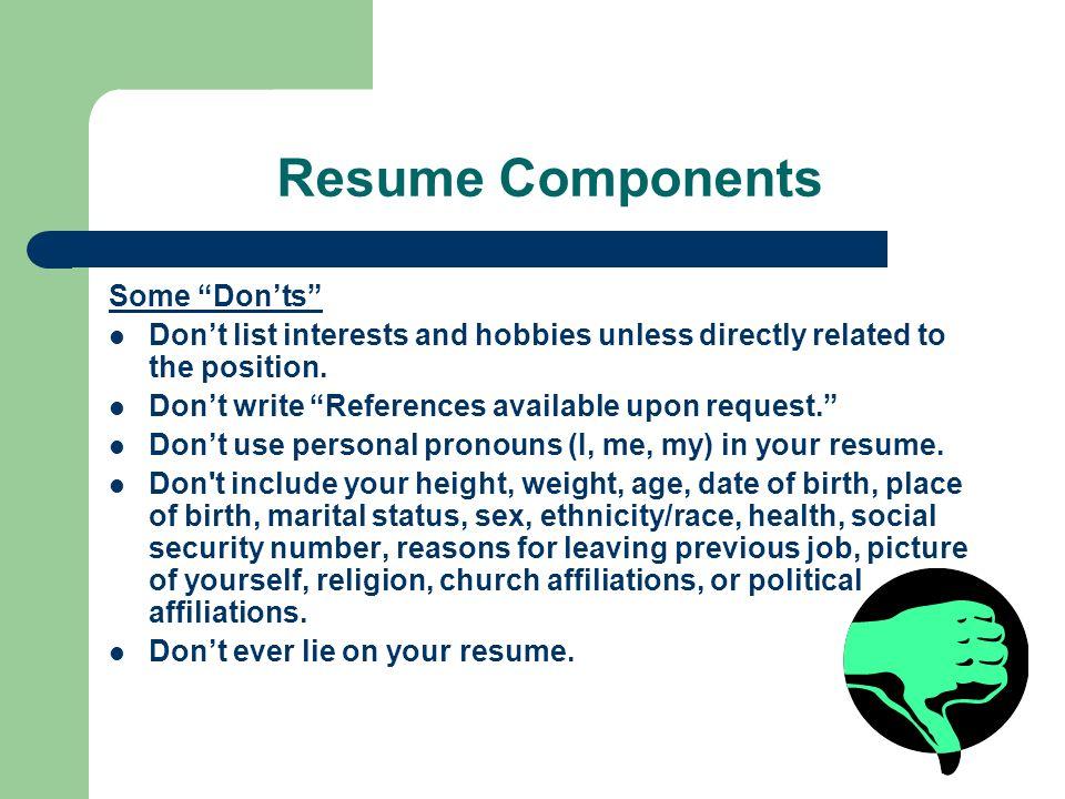 Resume Workshop Aimee Elber - ppt download
