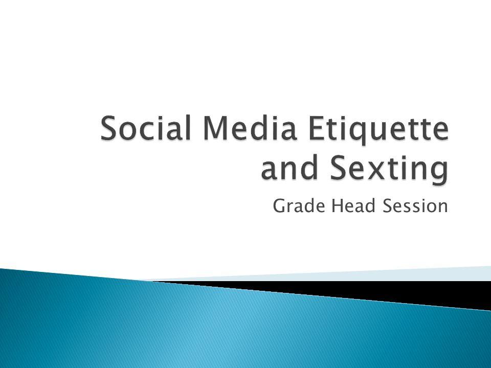 Etiquette sending lewd pictures