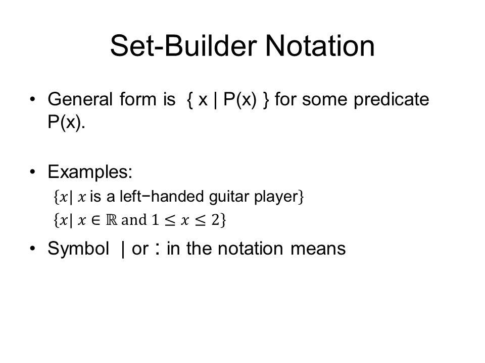 Roster, interval & set-builder notation youtube.