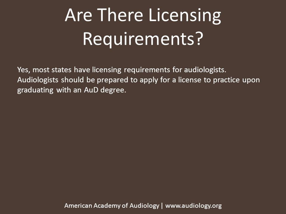 American Academy Of Audiology Aaa 2336 Ppt Download