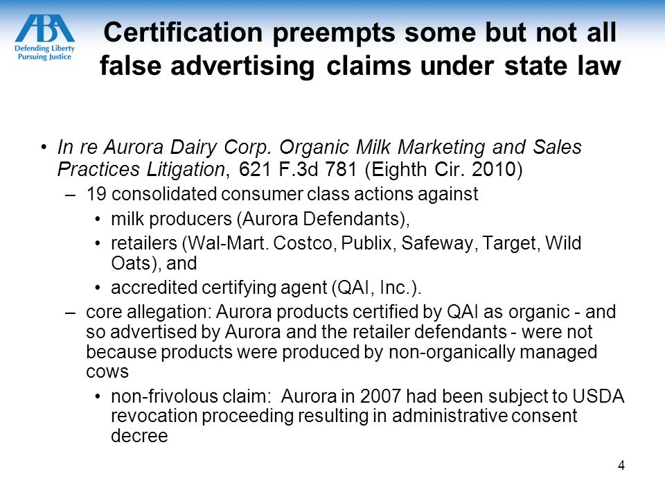 Is It Really Organic Third Party Certifications For Organic