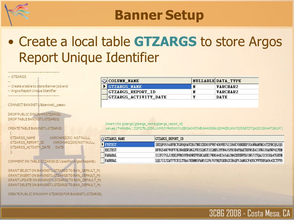 Running Argos Reports From Banner Job Submission San Mateo County