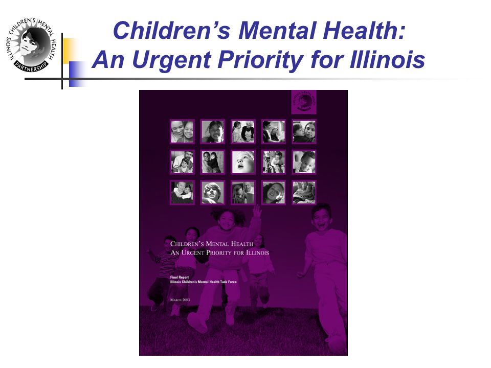 Children's Mental Health: An Urgent Priority for Illinois