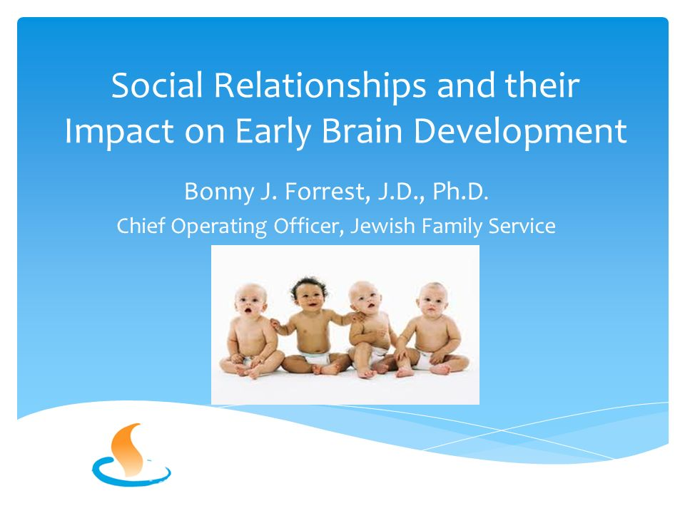 Social Relationships and their Impact on Early Brain Development Bonny J.