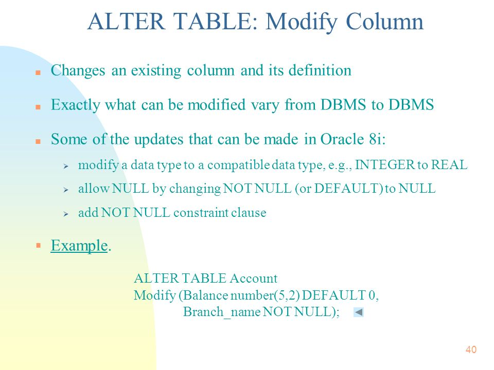 Chapter 4 Intermediate SQL: Integrity Constraints. - ppt download