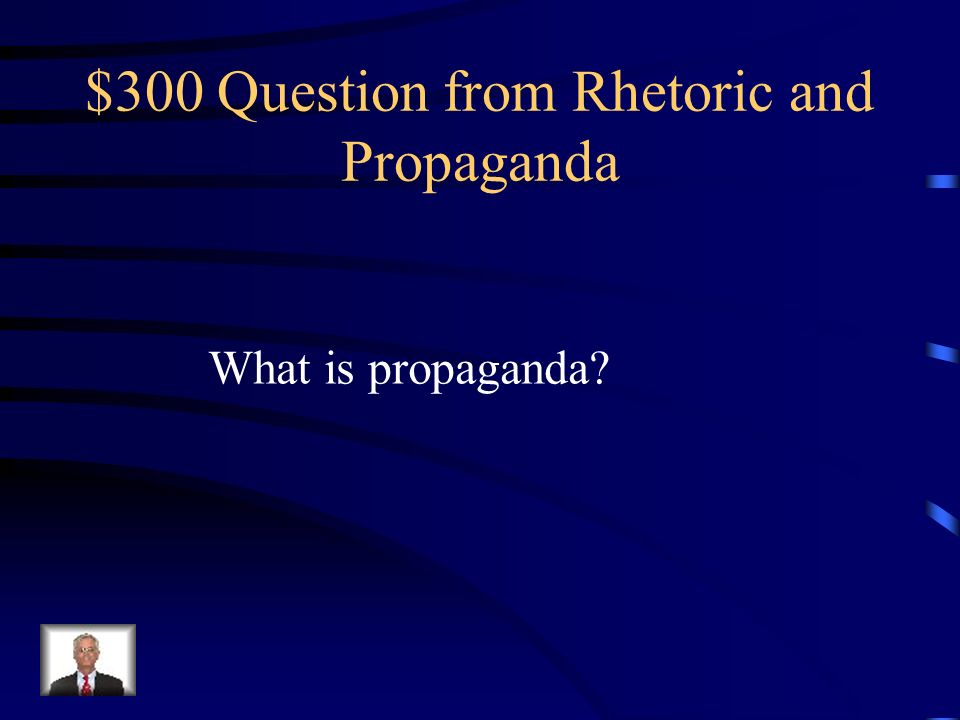 $200 Answer from Rhetoric and Propaganda Grammar, spelling, content, facts, Statistics, accuracy, form, organization, Transitions, etc.