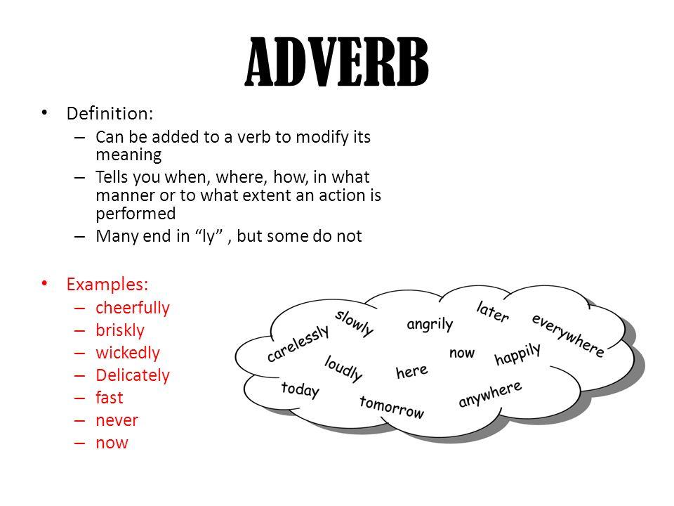 Parts Of Speech Grammar 8 Parts Of Speech 1noun 2 Pronoun 3 Verb