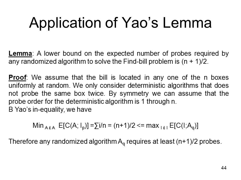 1 Introduction to Randomized Algorithms Srikrishnan