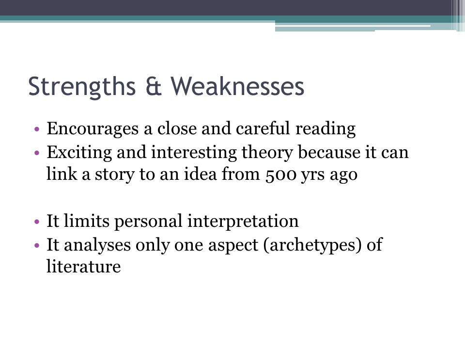 strengths of feminist theory