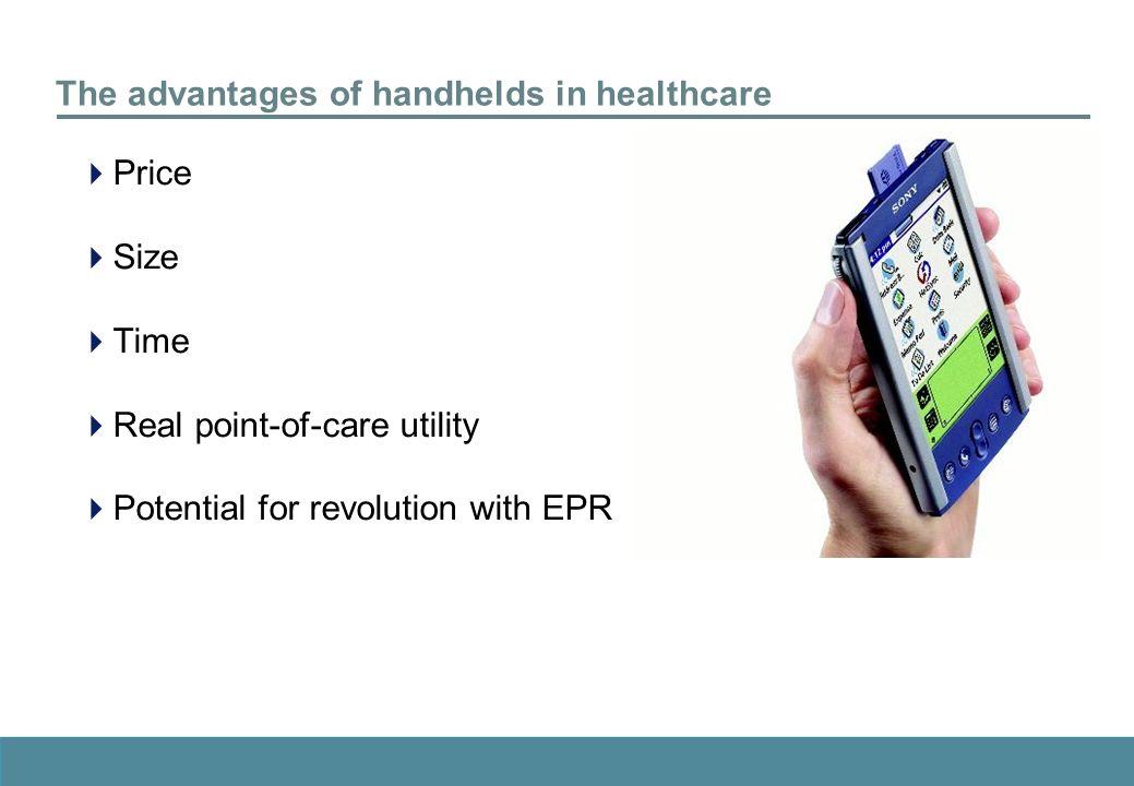 handhelds for doctors
