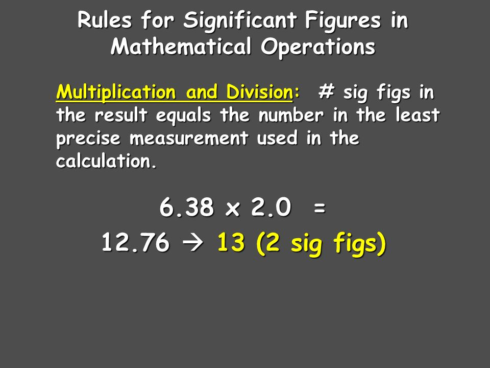 Sig Fig Practice #1 How many significant figures in each of the following.