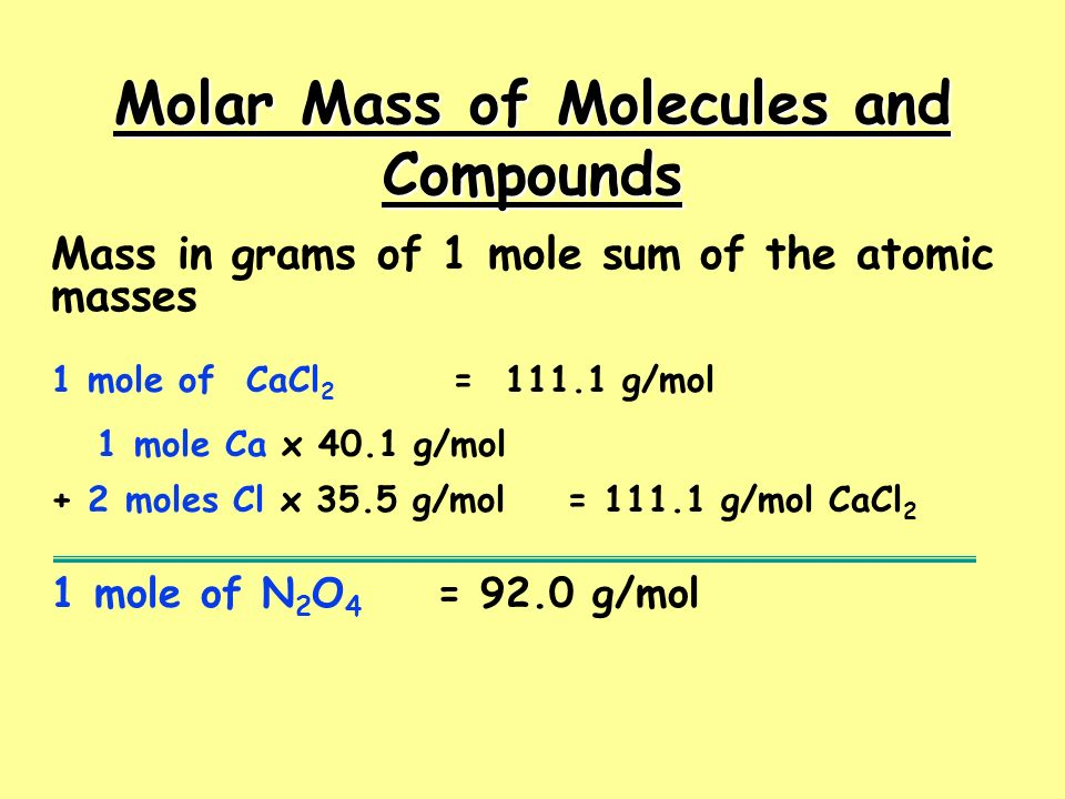 Chemical Formulas of Compounds Formulas give the relative numbers of atoms or moles of each element in a formula unit - always a whole number ratio (the law of definite proportions).Formulas give the relative numbers of atoms or moles of each element in a formula unit - always a whole number ratio (the law of definite proportions).