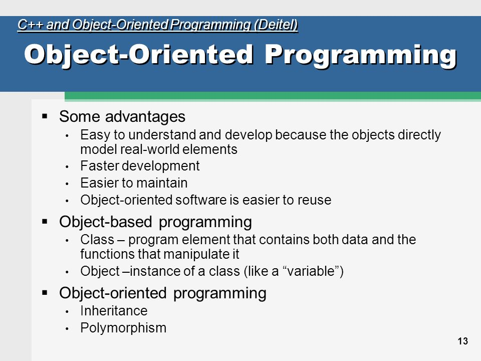 object oriented programming and recommendation summary conclusion Conclusion congratulations if you made it this far - hopefully you found the tutorial to be of some use this tutorial only begins to explain oop though programming c# jesse liberty isbn: -596-00489-3 a good introduction to the c# language with a short section on object oriented programming at.