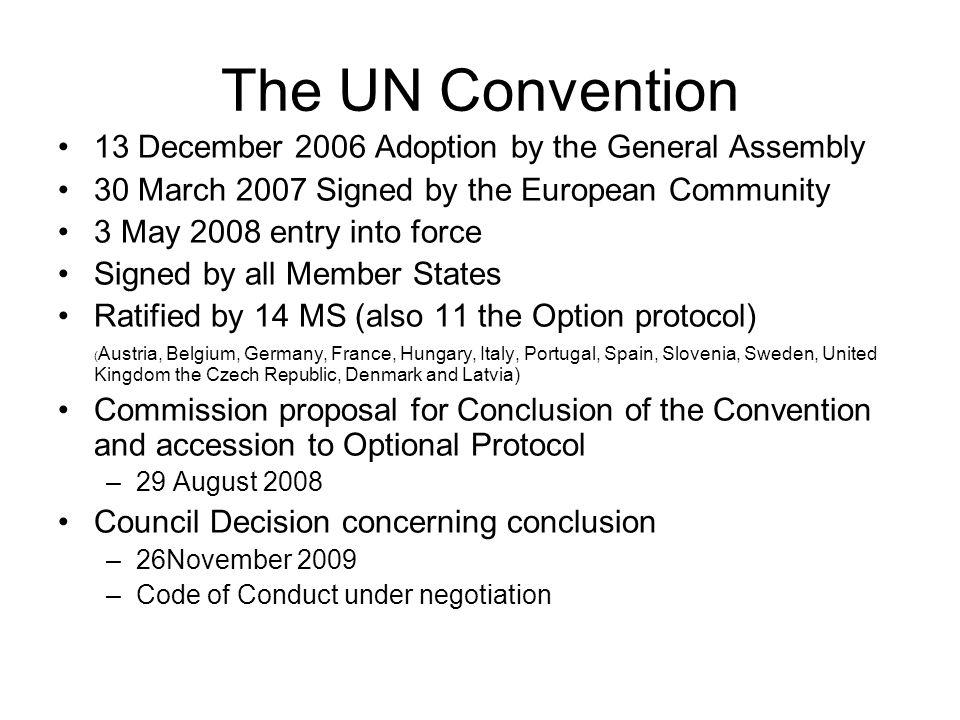 3 The UN Convention