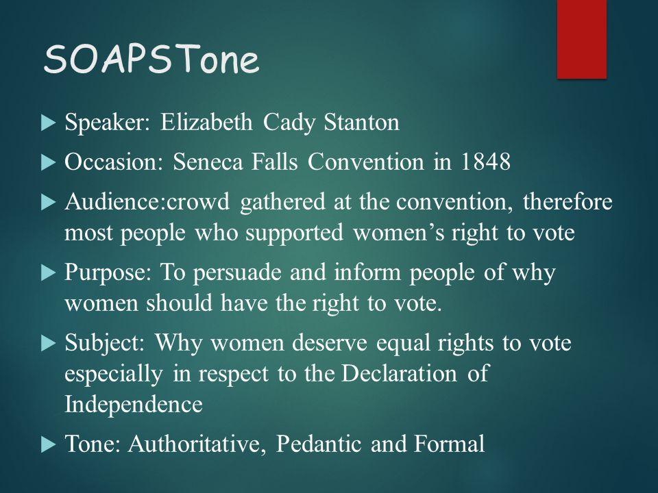 do women deserve equal rights