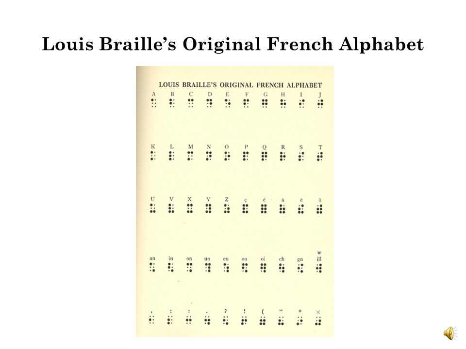 Louis Braille Inventor Of A Gift By Catherine Haynes Ppt Download