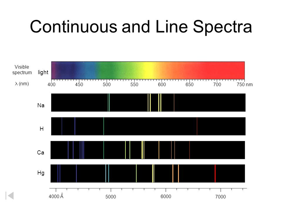 Hydrogen Spectral Lines A B C D E F Lyman series (UV) A B C D E Balmer (Visible) A B C D Paschen (IR) E1E1 E2E2 E3E3 E4E4 E5E5 E6E6 Energy Bohr's model of the atom accounted mathematically for the energy of each of the transitions shown.