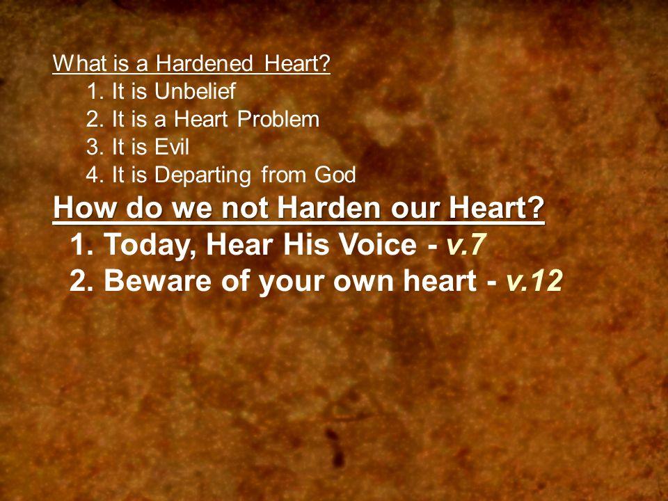 "Don't Harden Your Heart"" ""Don't Harden Your Heart"" Pg 1062"