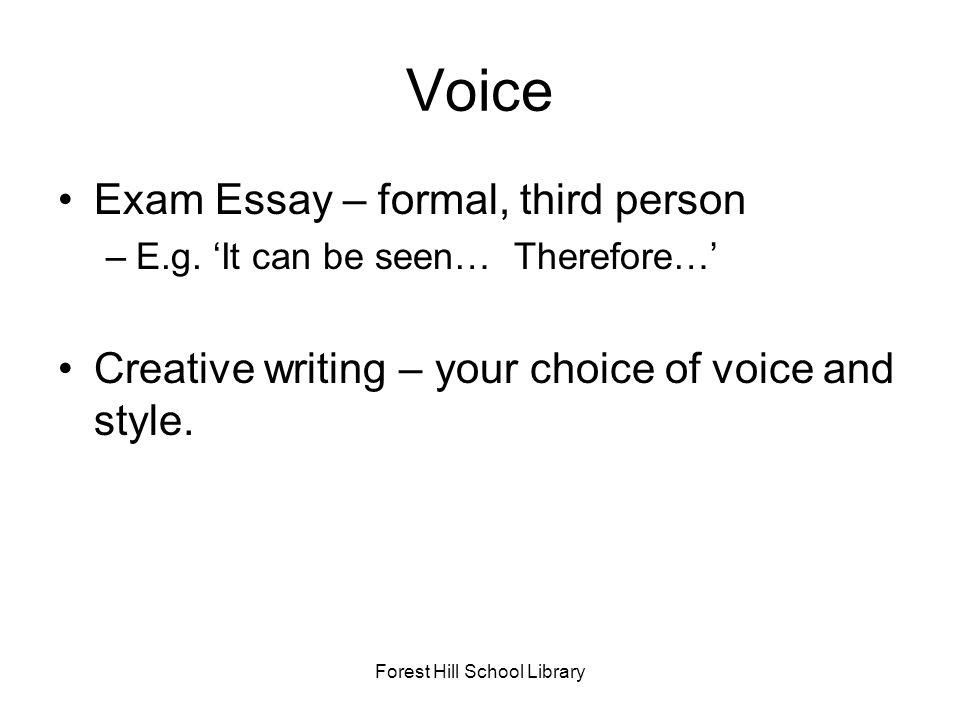 your school library essay