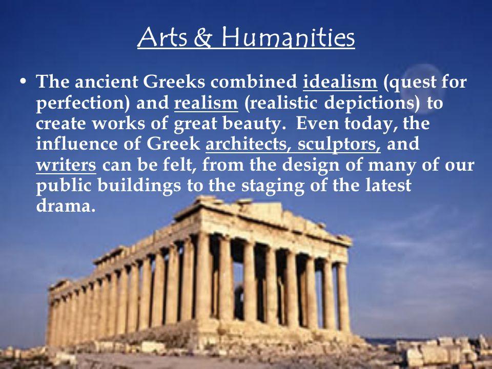 greek art idealism definition