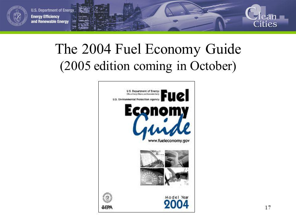 1 1 fuel economy and the clean cities program bo saulsbury oak ridge rh slideplayer com Toyota Gas Mileage Chart Car MPG