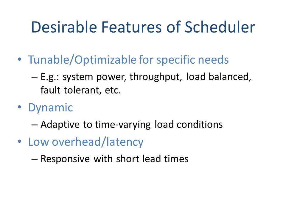 MobSched: An Optimizable Scheduler for Mobile Cloud