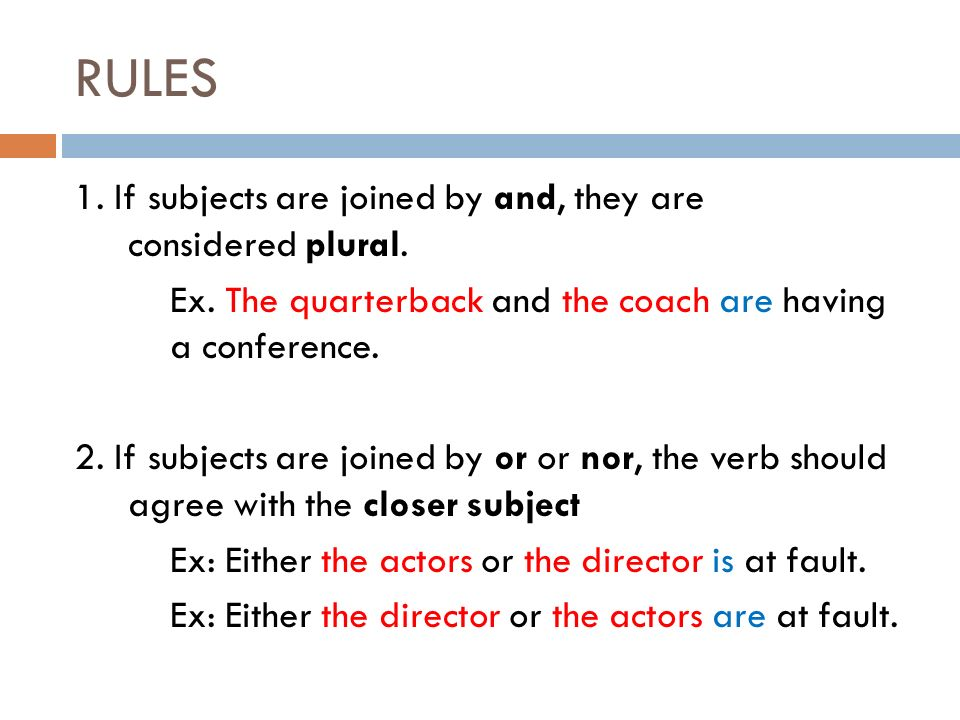 Grammar English Ii Fall Subject Verb Agreement 2 Noun Verb