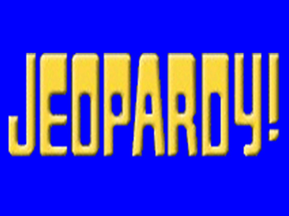 Algebra I - Review Jeopardy (Sections: 1.3, 1.6-8, 2.1,2.3, 2.5) This version by MRich
