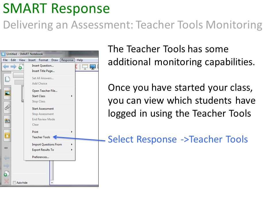The Teacher Tools has some additional monitoring capabilities.
