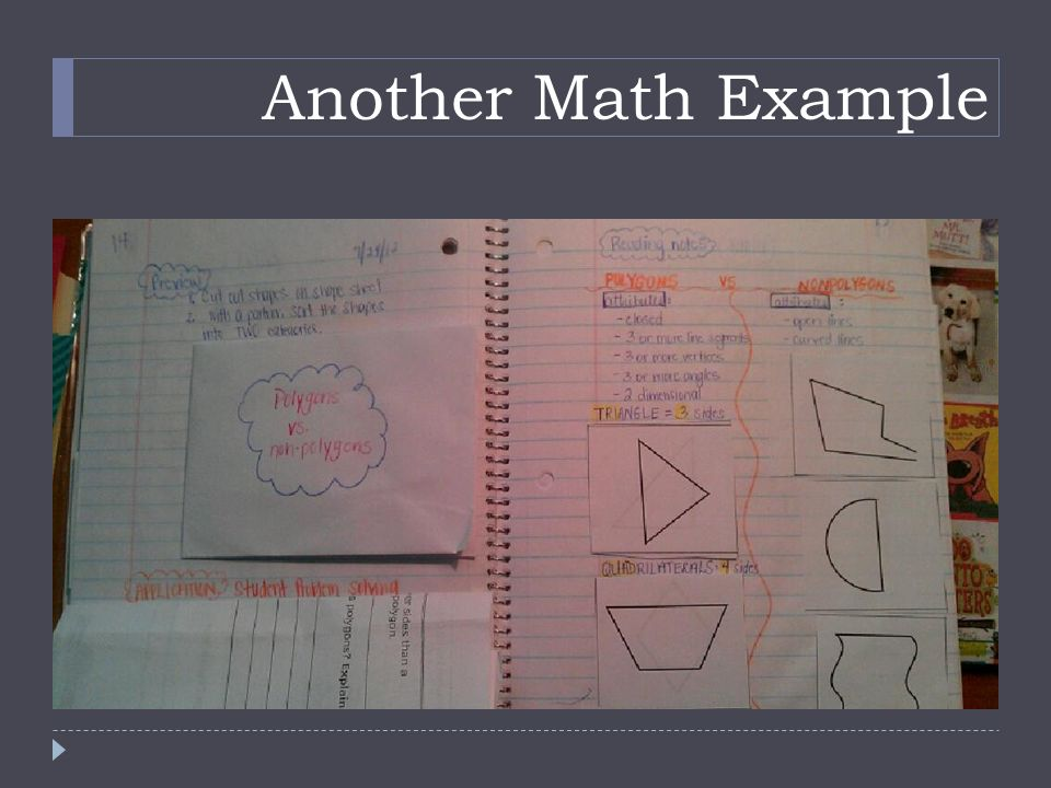 Another Math Example