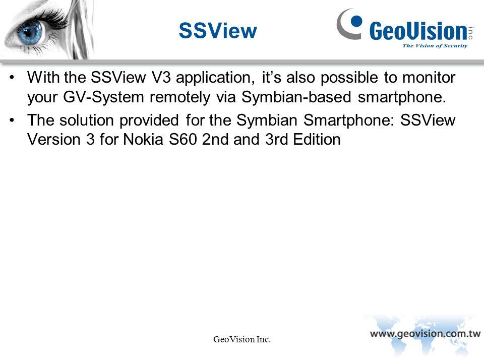 GeoVision Inc  Mobile First Edition, July, GeoVision Inc