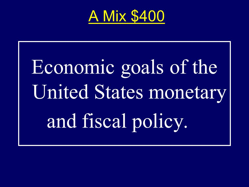 A Mix $300-Answer $300-Answer What is price stability