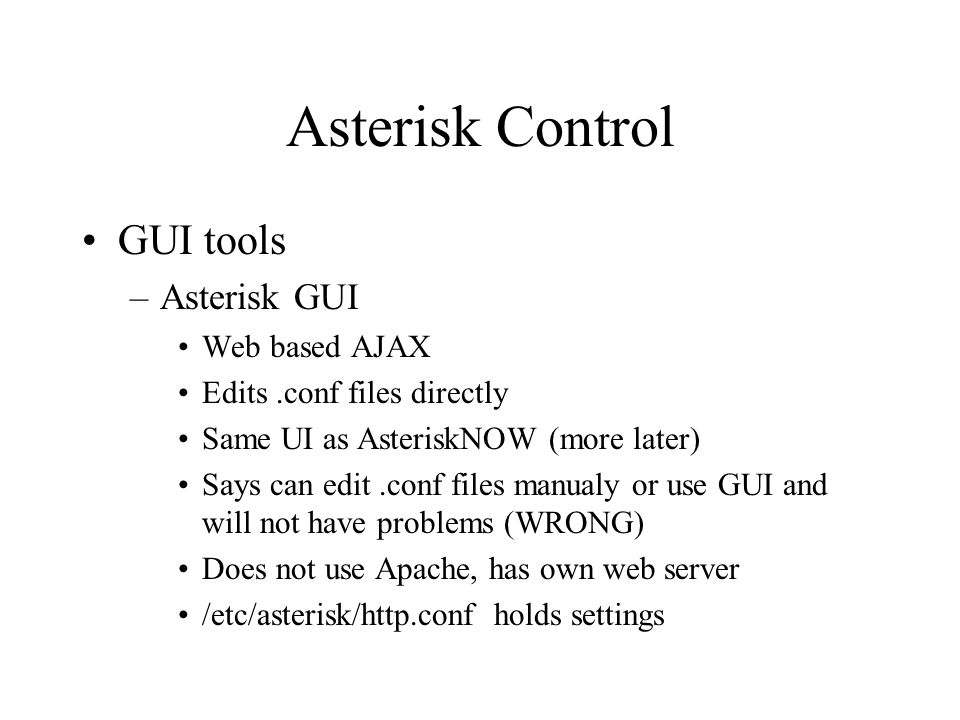 Asterisk The Open Source PBX & Telephony Platform  - ppt download