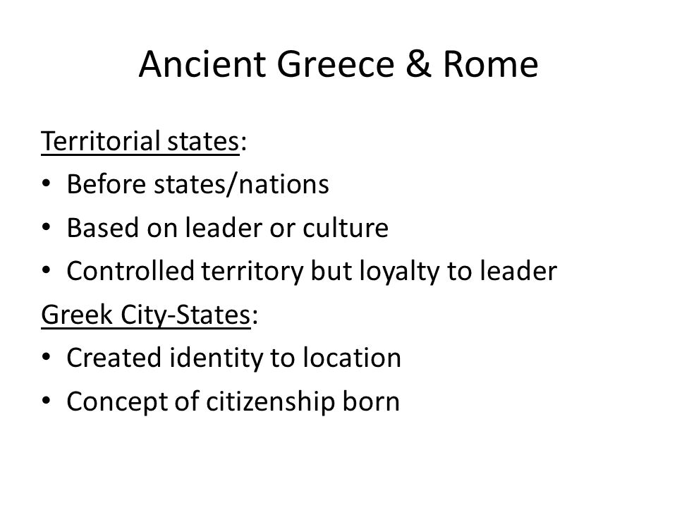 greek and roman concept of citizenship