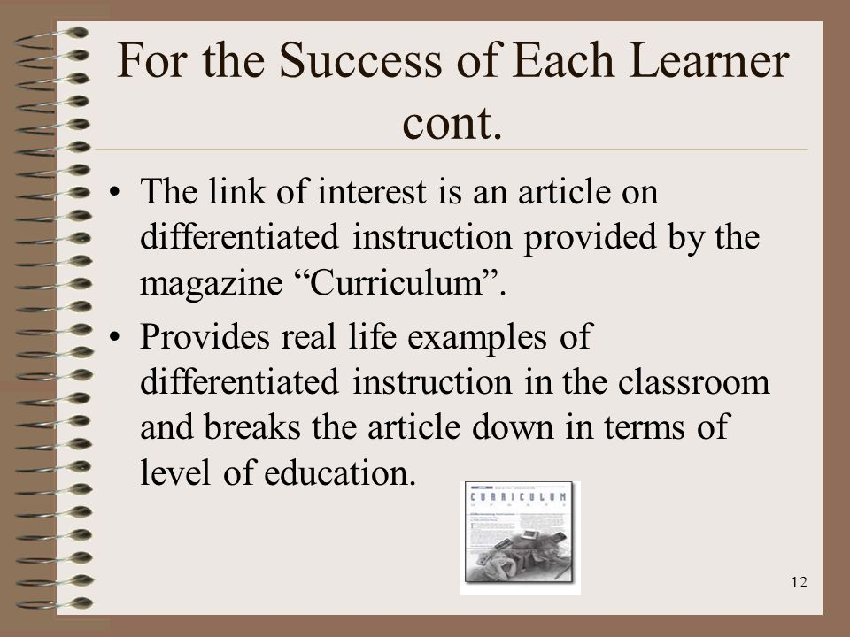 1 Differentiated Instruction Kelly Rowles October 24 Ppt Download